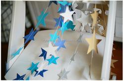 Best Seller 4 Meters star garland strands for wedding decoration table chandelier