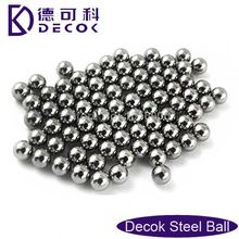 49.76mm AISI304, 316L, 420, 440C G100-1000 stainless steel ball for food grinding