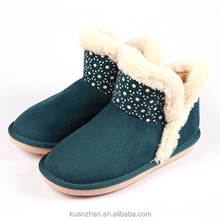 New design fashion low price casual woman snow boot for women