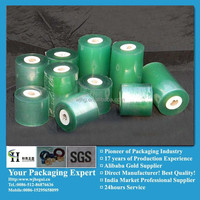 green soft plastic wrap