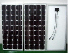 high efficiency 75w mono solar panel with full certificates factory direct solar enenrgy