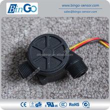 3/8'' plastic Water Flow Sensor for liquid, diameter16mm magnetic water flow sensor