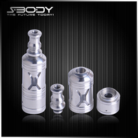 diy electronic cigarette refilling atomizer spray bottles X-ROCK adjustable air flow atomizer