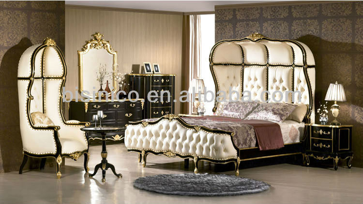 european bedroom furniture luxury classical bedroom set wooden bed