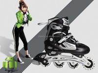 Professional Slalom Roller Inline Skates/blade:cougar Cr7 red/blue/pink.