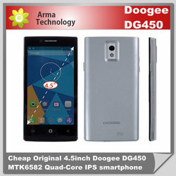 DOOGEE DG450 Cell Phones MTK6582 Dual Sim Android4.2