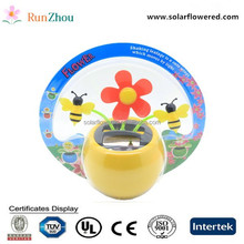 cute animal shaped energy solar apple