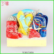 YC4017165A luggage novelty tourist 3d fridge magnet