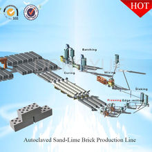 Porous concrete fly ash or sand brick making machine