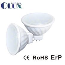 energy 4.5W Ceramic body mr16 led bulb , MR16 LED Bulbs 4.5W MR16 LED Spotlight bulb with CE RoHS for exporting