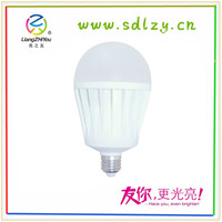 Hot sale dc 12v led bulb 18w e27 led light bulb cool/warm white saving energy and power