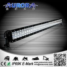 Ip69k 40 '' 400 w dupla fileira offroad led light bar 4 x 4 offroad