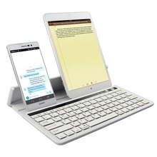 Universal Slim Bluetooth Wireless Keyboard With Stand For iPad/iPad Mini/iPad Air