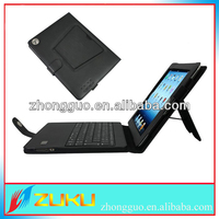 For iPad 2/3/4 Folio Leather Case Bluetooth Keyboard Flip Cover