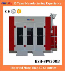 good quality car oven/car spray booth price/used spray dryer for sale