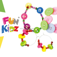 Kids Craft DIY Button Jewelry Kits