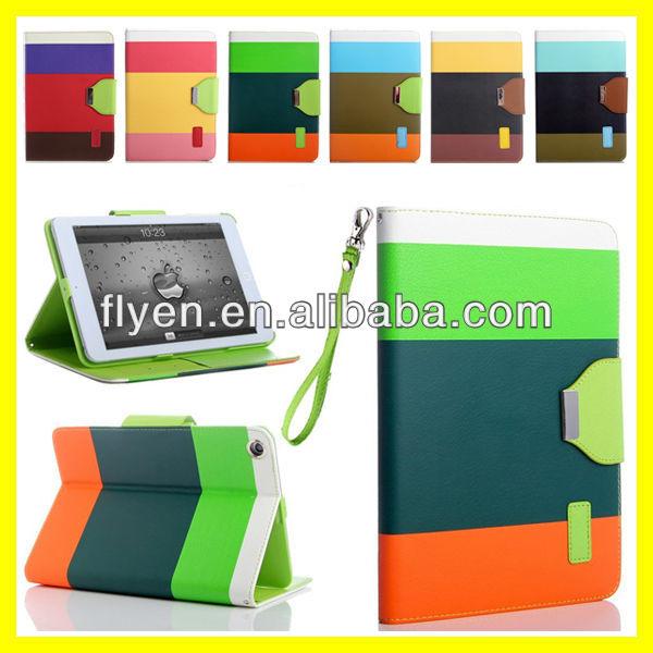 Гибридный искусственная кожа бумажник флип чехол для iPad Mini магнит смарт-чехол кожаный чехол новый