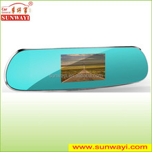 High quality rearview mirror Gps Navigator car dvr camera (6-IN-1)