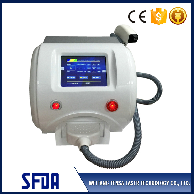 China express tragbare vertikale <span class=keywords><strong>modell</strong></span> tragbare diode laser haar entfernung maschine
