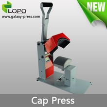 Pluto heat press machine used in cap transfer from Lopo