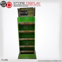 Biodegradable cardboard point of purchase display Customized Merchandiser Seasoning Pop Display