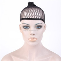 Wholesale Wig Hairnet Unisex Stocking Wig Liner Cap Snood Nylon Stretch Mesh Adjustable Lace Wig Caps