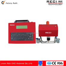 China factory portable dot peen marking machine