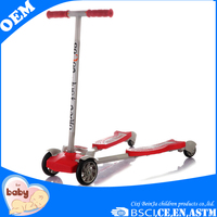 Good quality baby scooter large skate scooter four wheel kick scooter