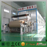 Multi-dryer and multi-cylinder mold grey board /white duplex paper making machine with high grammage