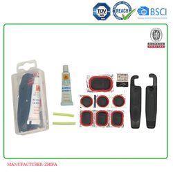 Article No. TP03 transparent box bicycle tire patch kit