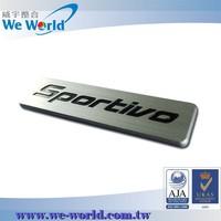 Special value custom made chrome metal car logo car emblem