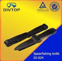 420SS 304SS Sharp Spearfishing Knife Hunting Knife