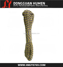 Jinyu high quality military paracord 550/survival kit polyester rope