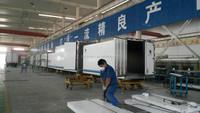 cheaper 7feet -40feet CKD fiberglass truck body kits/cargo truck box body /refrigerated fiberglass truck box body for sale
