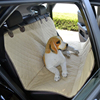 car dog seat cover with non-slip net
