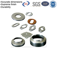 Processing center stamping contact battery