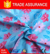 100% custom print cotton fabric wholesale for curtain