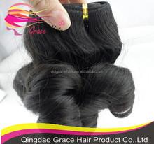 100% indian human vingin hair extension suppliers china