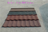 Pioneering Excellence color stone metal roof tile