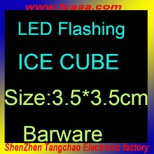 Eco-friendly artificial ice cubes,reusable ice cubes,led ice cubes