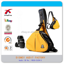 Triangle Waterproof polyester Photographic Equipment DSLR camera bag