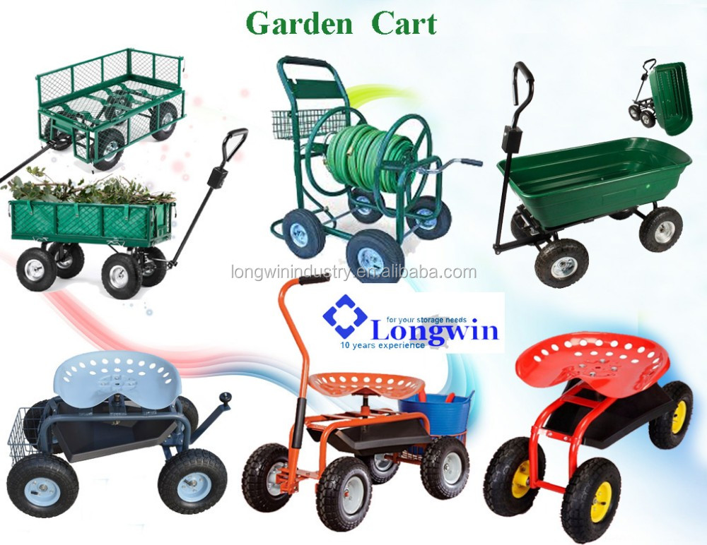 Handle Pull Garden Cart/pull Wagon/plastic Dump Cart   Buy Dump Cart ...