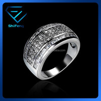 China Factory Direct Wholesale Jewelry Ring Mirco CZ Setting Ring