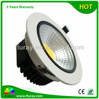 Hot Sale COB 10W 90mm Cutout Size Dimmable LED Downlight