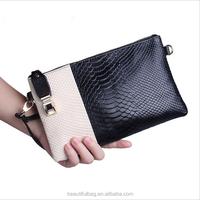 New 2015 Animal skin clutch bag women's Multifunctional bag genuine leather ladies' fashion clutch bag