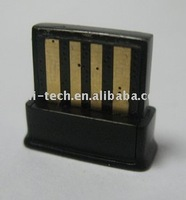 Mini Bluetooth adapter with CSRV2.1+EDR, unique MAC address