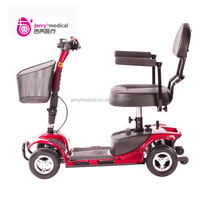 Portable 4 wheel elderly electric scooter manufacturer