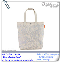 promotional canvas book bags for teens cotton bag