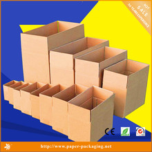 wholesale paper kraft corrugated shipping carton box