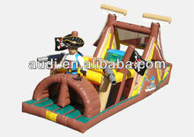 Backyard Pirates Obstacle Course - Commercial Inflatable Obstacle Course